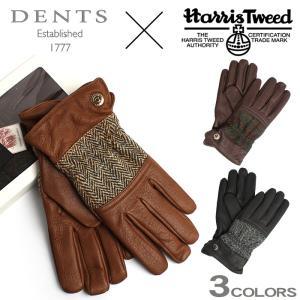 (店内全品クリアランス) デンツ DENTS 手袋 グローブ メンズ 革 レザー 防寒