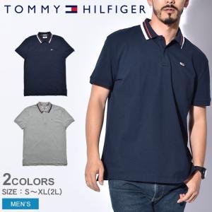 トミーヒルフィガー TOMMY HILFIGER ポロシャツ クラシックステッチ ポロ DM0DM05509 メンズ トップス|z-craft