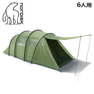 ノルディスク テント レイサ 6 NORDISK 122032 ダスティーグリーン キャンプ アウト...