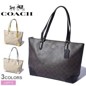 COACH コーチ トートバッグ ジップ トート シグネチャー キャンバス F29208 レディース 鞄|z-craft