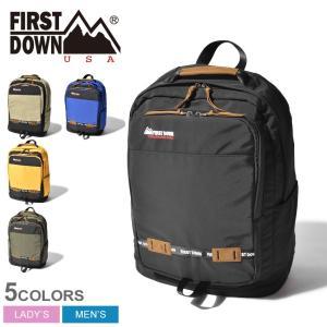FIRST DOWN ファーストダウン バックパック DJ リュック 33008 リュックサック 鞄 かばん アウトドア 通勤 通学|z-craft