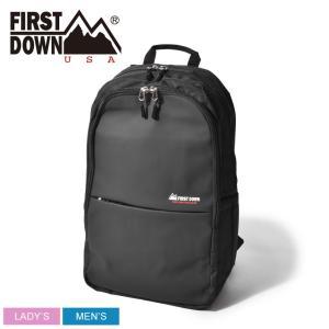 FIRST DOWN ファーストダウン バックパック スムース合皮カッティングリュック 33003 鞄 かばん アウトドア 旅行|z-craft