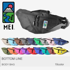 MEI メイ ボディバッグ ボトムライン BOTTOM LINE 180002 メンズ レディース|z-craft