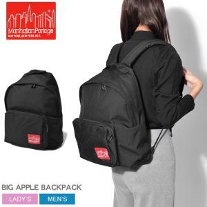 マンハッタンポーテージ バックパック ビッグ アップル 1210-BD バッグ 鞄 黒 ロゴ|z-craft
