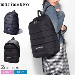 マリメッコ バックパック ローリー 北欧 おしゃれ 黒 ブラック LOLLY BACKPACK 45486 リュック MARIMEKKO|z-craft