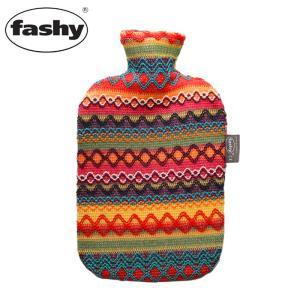 (店内全品クリアランス) FASHY ファシー ペルーデザインカバー 湯たんぽ 2.0L