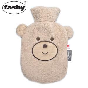 (店内全品クリアランス) FASHY ファシー 湯たんぽ クマカバー 0.8L 5215 冬 防寒 ...