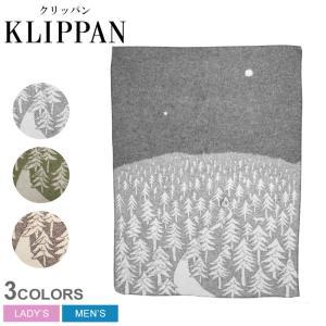 (応援セール価格!) クリッパン KLIPPAN ウール シングル ブランケット ハウス イン ザ フォレスト 130×180 【mina perhonen コラボモデル】の写真