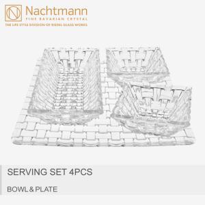 販売セット数:ボウル1個、ディップボウル2個、スクエアプレート1枚 食器洗浄機:使用可 電子レンジ:...