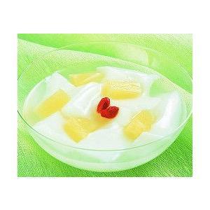 業務用 あわせるデザート(杏仁豆腐)500g フレック 冷凍保存食品 冷凍食品 自然解凍可 食材