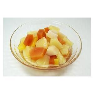 業務用 トロピカルフルーツ#2 2号缶(850g)固形490g 天狗缶詰 食材 食品