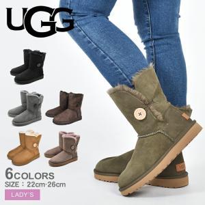 UGG アグ ムートンブーツ レディース ベイリーボタン II BAILEY BUTTON II 1016226 靴 ブランド|z-mall