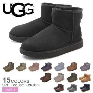 UGG アグ ムートンブーツ クラシック ミニ II CLASSIC MINI II 1016222 レディース 靴 ブランド|z-mall