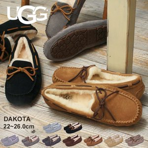 UGG アグ モカシン ダコタ DAKOTA 5612 1106877 レディース 靴 羊毛 シープスキン フラット シューズ ブランド|z-mall