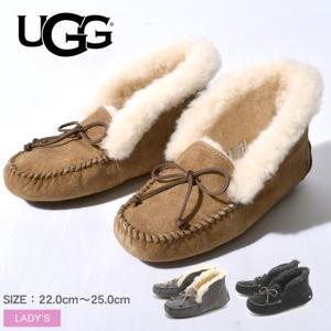アグ モカシン UGG正規品 フラットシューズ アレーナ レディース 靴 おしゃれ ブランド|z-mall