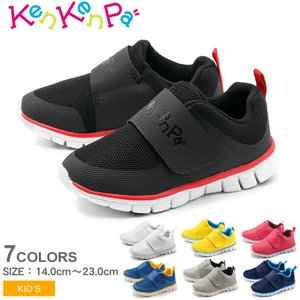 スリッポン キッズ ベルト スニーカー KP-011 ジュニア 子供 靴 シューズ KenKenPa ケンケンパ 誕生日 プレゼント ギフト|z-mall
