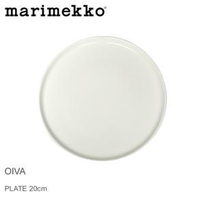 ■ITEM フィンランドの人気テキスタイルメーカー マリメッコ より オイヴァ プレート20cm で...