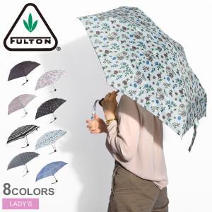 フルトン 傘 TINY2 レディース 雨傘 雨具 おしゃれ 折り畳み 折りたたみ FULTON ブラ...