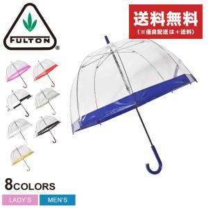 フルトン 傘 おすすめ BIRDCAGE1 L041 レディース メンズ 雨具 ビニール ブランド FULTON 雨具 透明 おしゃれ カラフル 黒 白 赤 ブランド|z-mall