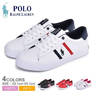 ラルフローレン スニーカー GEOFF2 レディース ジュニア 靴 POLO RALPH LAURE...