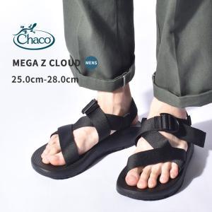 チャコ サンダル メンズ メガ Z クラウド CHACO J106635 ブラック 黒 アウトドア スポーツサンダル ストラップサンダル 軽量|Z-SPORTS PayPayモール店
