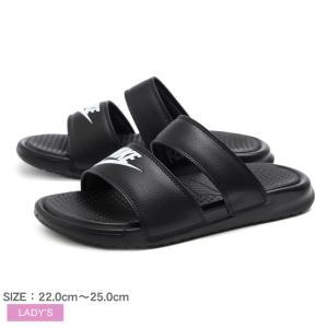 ナイキ シャワーサンダル レディース ベナッシ デュオ ウルトラスライド BENASSI DUO ULTRA SLIDE 819717 NIKE スポーツ 靴 黒 白