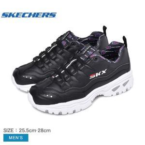 スケッチャーズ SKECHERS スニーカー メンズ ENERGY RETRO VISION 237012 靴 シューズ ブラック 黒 ダッドシューズ ダッドスニーカーの画像