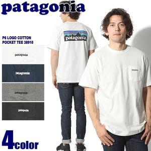 パタゴニア PATAGONIA カットソー P6 ロゴ コッ...
