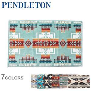 ペンドルトン ハンドタオル ジャガード ハンドタオル PENDLETON XB219 ブラック 黒 ...