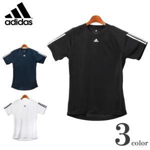 アディダス ADIDAS クライマ ベース 3S Tシャツ メンズ