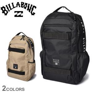 ビラボン バックパック メンズ レディース デイ パック BILLABONG BB011927 ベージュ 黒 ブラック リュックサック リュック 収納|Z-SPORTS PayPayモール店