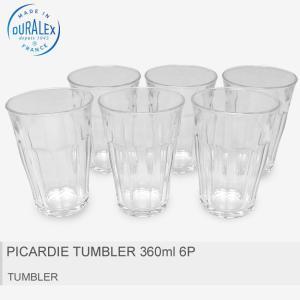 ■ITEM DURALEXより「PICARDIE TUMBLER 360ml 6P」です。 フランス...