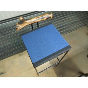 バーカウンター ハイチェアー 和紙畳み アイアン家具|zacc