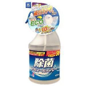 友和 ティポス 除菌アルコールスプレー 減容ボトル本体 420mlは安心・安全・強力除菌、100%成...