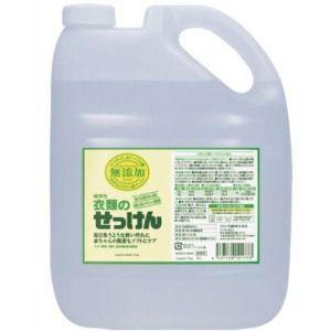 ミヨシ石鹸 無添加衣類のせっけん詰替 5L 業務用 zaccaya