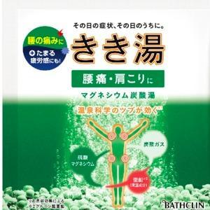 バスクリン きき湯 マグネシウム 炭酸湯 30g 分包