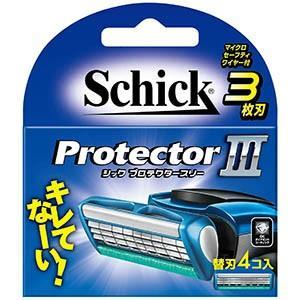 シックジャパン  プロテクタースリー替刃 4個入|zaccaya