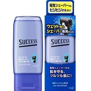 花王 サクセス ウェット剃りシェーバー専用ジェル 180g|zaccaya