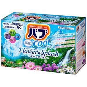 花王 バブ クール フラワースプラッシュの香り 12錠  zaccaya