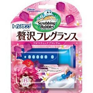 ジョンソン スクラビングバブル トイレスタンプ贅沢フレグランスアロマティックブロッサムの香り 38gの商品画像|ナビ