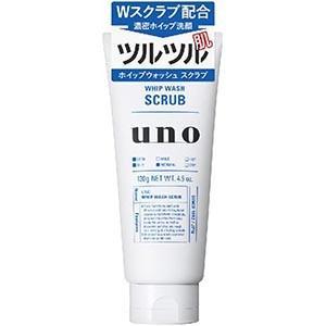 資生堂 ウーノ(uno) ホイップウォッシュ スクラブ 130g