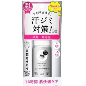 資生堂 エージーデオ24 デオドラントロールオンEX 無香料40ml zaccaya