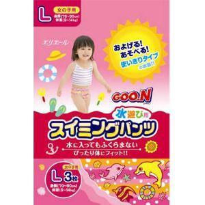 大王製紙 グーン スイミングパンツ Lサイズ3枚女の子|zaccaya