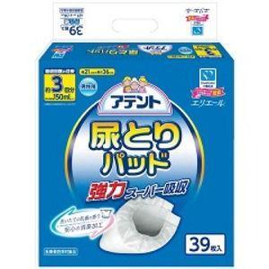 【在庫処分】大王製紙 アテント 尿とりパッド 強力スーパー吸収 男性用 3回吸収 39枚入 zaccaya
