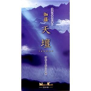 日本香堂 伽羅天壇 バラ詰 125g|zaccaya