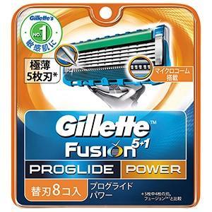 P&G  ジレット プログライドパワー 替刃8個入り 1個|zaccaya