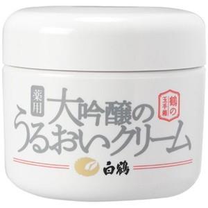 白鶴 薬用大吟醸のうるおいクリーム 90g|zaccaya