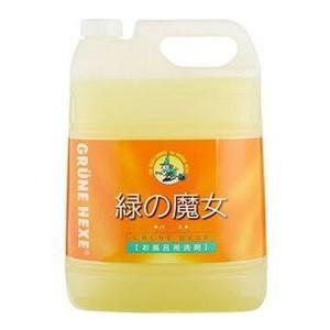 ミマスクリーンケア 緑の魔女 バス お風呂用洗剤 5L 業務用 zaccaya