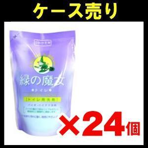 【ケース売り】緑の魔女 トイレ洗剤詰替360ml×24個入り zaccaya