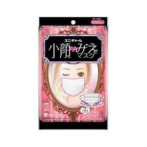 ユニチャーム 小顔にみえマスク かぜ・花粉用 小さめサイズ 7枚入|zaccaya